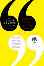 The Paris Review Interview:  Volume 1
