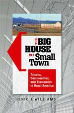 The Big House in a Small Town:  Prisons, Communities, and Economics in Rural America