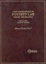 Nice and Trubek's Cases and Materials on Poverty Law: Theory and Practice
