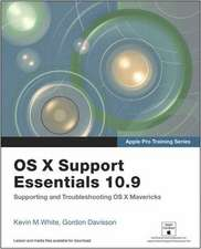 OS X Support Essentials 10.9 with Access Code