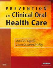 Prevention in Clinical Oral Health Care