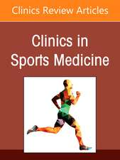 Sport-Related Concussion (SRC), An Issue of Clinics in Sports Medicine