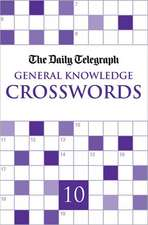 The Daily Telegraph General Knowledge Crosswords Book 10:  The Autobiography