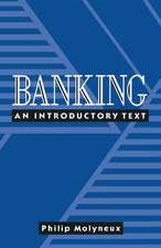 Banking: An introductory text