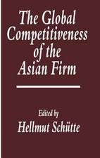 The Global Competitiveness of the Asian Firm