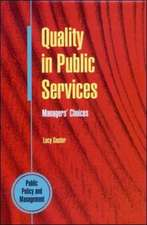 Quality in Public Services