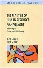 Realities of Human Resource Management