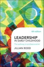 Leadership in Early Childhood: The Pathway to Professionalism
