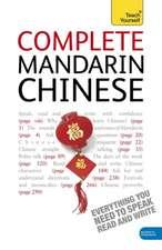(Cor), T: Complete Mandarin Chinese Beginner to Intermediate