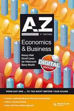 A-Z Economics and Business Handbook: Digital Edition