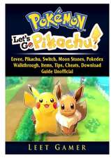 Pokemon Lets Go, Eevee, Pikachu, Switch, Moon Stones, Pokedex, Walkthrough, Items, Tips, Cheats, Download, Guide Unofficial