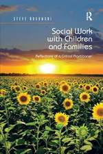 SOCIAL WORK WITH CHILDREN AND FAMIL