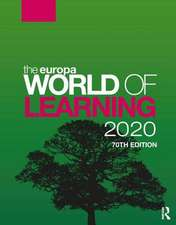 EUROPA WORLD OF LEARNING 2020