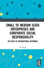 Small to Medium Sized Enterprises and Corporate Social Responsibility
