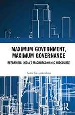 Maximum Government, Maximum Governance