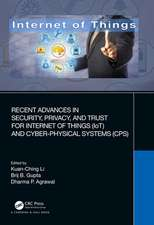 Recent Advances in Security, Privacy, and Trust for Internet