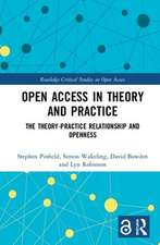 Open Access in Theory and Practice (Open Access)