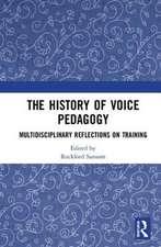 History of Voice Pedagogy
