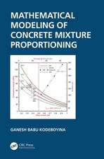 Mathematical Modelling of Concrete Mixture Proportioning