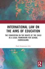 Strommen Lile, H: International Law on the Aims of Education