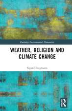 Weather, Religion and Climate Change