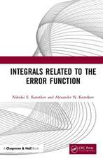 Integrals Related to the Error Function
