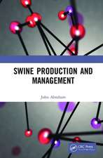 Swine Production and Management