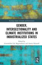 Gender, Intersectionality and Climate Institutions in Industrialized States