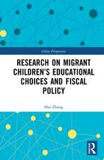 Research on Migrant Children's Educational Choices and Fiscal Policy
