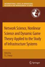 Network Science, Nonlinear Science and Infrastructure Systems