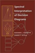 Spectral Interpretation of Decision Diagrams