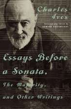 Essays Before a Sonata, The Majority & Other Writings