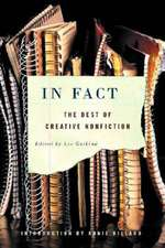 In Fact – The Best of Creative Nonfiction
