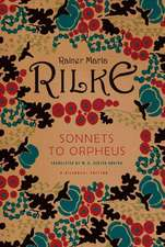 Sonnets to Orpheus Reissue