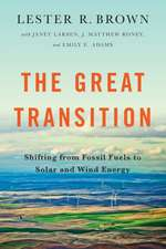 The Great Transition – Shifting from Fossil Fuels to Solar and Wind Energy
