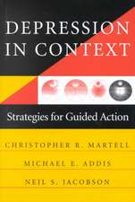 Depression in Context – Strategies for Guided Action