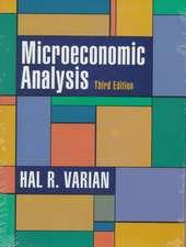 Microeconomics Analysis 3e