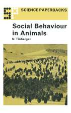 Social Behaviour in Animals: With Special Reference to Vertebrates