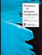 Dictionary of Inorganic Compounds