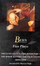 Behn:  Five Plays