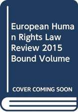 European Human Rights Law Review