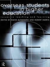 Overseas Students in Higher Education:  Issues in Teaching and Learning