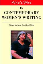 Who's Who in Contemporary Women's Writing