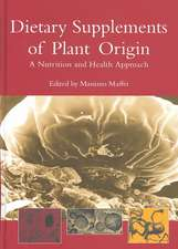 Dietary Supplements of Plant Origin:  A Nutrition and Health Approach