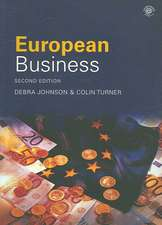 Johnson, D: European Business