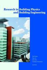 Research in Building Physics and Building Engineering:  3rd International Conference in Building Physics (Montreal, Canada, 27-31 August 2006)