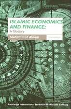 Islamic Economics and Finance:  A Glossary