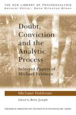 Doubt, Conviction and the Analytic Process:  Selected Papers of Michael Feldman