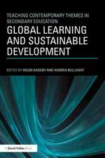 Global Learning and Sustainable Development