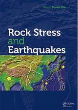 Rock Stress and Earthquakes [With CDROM]:  Planning and Development